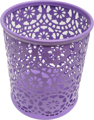 stojánek drátěný na tužky kulatý Europen fialový(033830106)