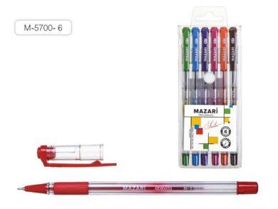 kuličkové pero Sailor M-5700- 6 barev oil gel(4640020966304)