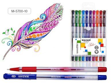 žkuličkové pero Sailor M-5700-10 barev oil gel(4640020966335)