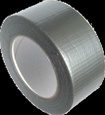 lepící páska textilní 48 x 25 stříbrná(4893643148996)