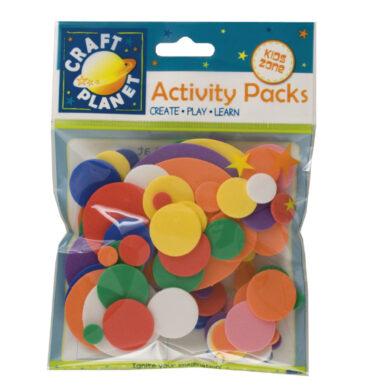 DO pěnová guma CPT 4141101 výseky kola 75ks mix barev(5021305206718)