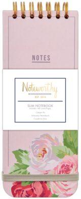 DO blok NOT 101115 Graphic Florals slim spirála 80l(5038041025084)