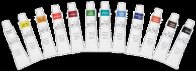 barvy akrylové DOA 551000 12ks 12ml(5038041053490)