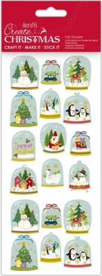 DO samolepky PMA 828908 vánoční Pretty Snowglobes(5038041058303)