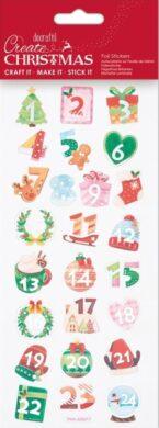 DO samolepky PMA 828917 vánoční Advent Numbers(5038041058396)