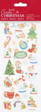 DO samolepky PMA 828918 vánoční Christmas Sloths(5038041058402)
