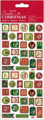 DO samolepky PMA 828921 vánoční Trad Advent(5038041058433)