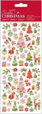 DO samolepky PMA 828924 vánoční Pink Trees(5038041058464)
