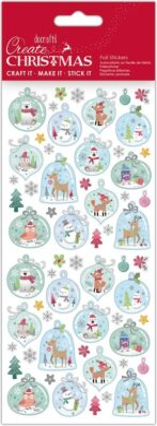 DO samolepky PMA 828925 vánoční Glass Baubles(5038041058471)