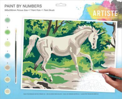 malování podle čísel DOA 550707 - Mystical Unicorn(5038041074174)