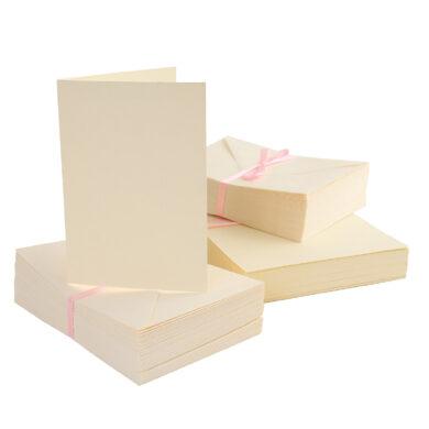 DO obálky+karty ANT 1511001 A6 krémové 100ks(5038041918737)