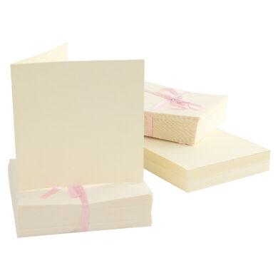 DO obálky+karty ANT 1512001 čtverec 14 x 14 cream 100ks(5038041918768)