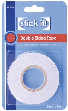 DO lepící páska STI 7101 oboustranná tenká 18m x 6mm(5038041919192)