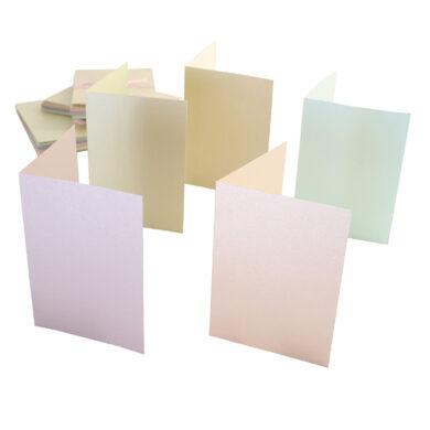 DO obálky+karty ANT 1511010 A6 pastel.perleť 50ks(5038041919888)