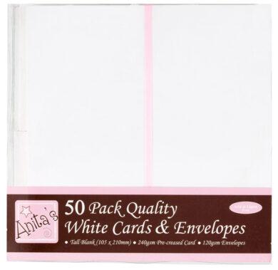 DO obálky+karty ANT 1513020 DL bílé 50ks(5038041922147)
