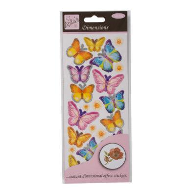 DO samolepky ANT 8161014 prostorové Spring Buterflies(5038041926824)