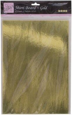 papír ANT 1641001 A4 karton zlatý zrcadlový 20ks 250g(5038041933686)