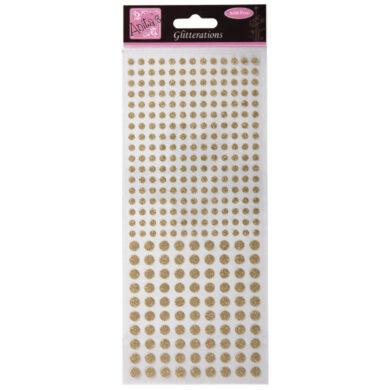 DO samolepky ANT 8181042 tečky zlaté(5038041937288)