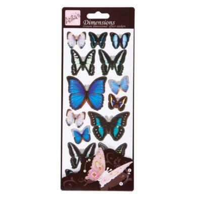 DO samolepky ANT 816123 motýli BLUE(5038041958269)