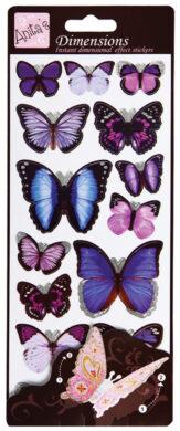 DO samolepky ANT 816112 motýli PURPLE(5038041960125)