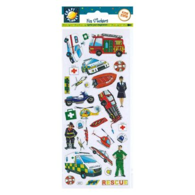 DO samolepky CPT 6561052 Rescue Vehicles(5050784072026)