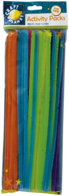 drát plyšový CPT 6601109 300mm 60ks 6 neon.barev(5050784073146)