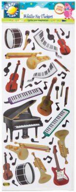 DO samolepky CPT 8181112 metalické - hudební nástroje(5050784074938)