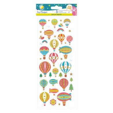 DO samolepky CPT 805278 Hot Air Balloons(5050784079902)