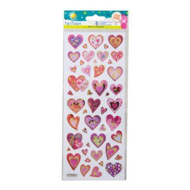 DO samolepky CPT 805241 Glitter Hearts(5050784080120)