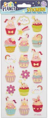 DO samolepky CPT 805280 Unicorns + Cupcakes(5050784084807)