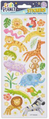 DO samolepky CPT 805284 Jungle Animals(5050784084845)
