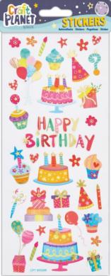 DO samolepky CPT 805288 Happy Birthday(5050784087235)