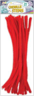 drát plyšový CPT 660004 300mm 20ks červený(5050784087471)