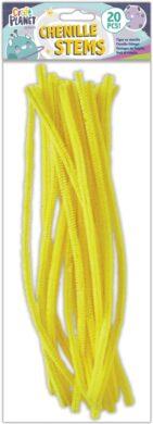 drát plyšový CPT 660005 300mm 20ks žlutý(5050784087488)