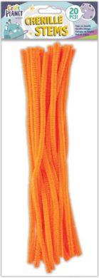 žDO drát plyšový CPT 660006 300mm 20ks oranžový(5050784087495)