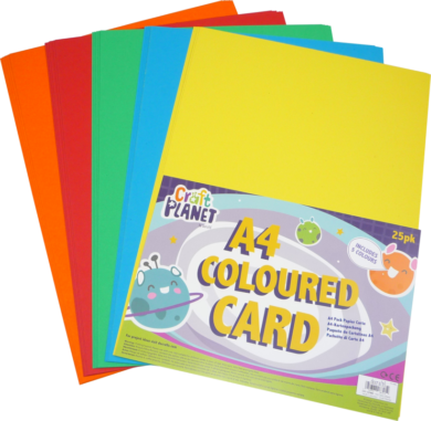 papír A4 karton barevný mix 25l 280g CPT 157000(5050784087914)