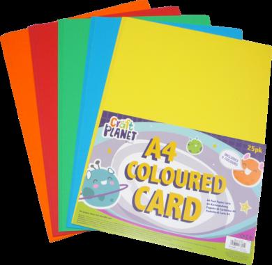 papír CPT 157000 A4 karton 25ks 280 g mix barev(5050784087914)