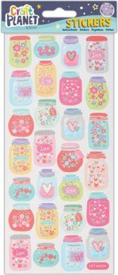 DO samolepky CPT 805291 Heart Jars(5050784089390)