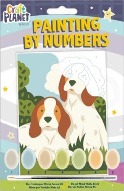malování podle čísel CPT 658700 mini - Dogs(5050784090600)