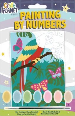 malování podle čísel CPT 658707 mini - Parrot(5050784090679)