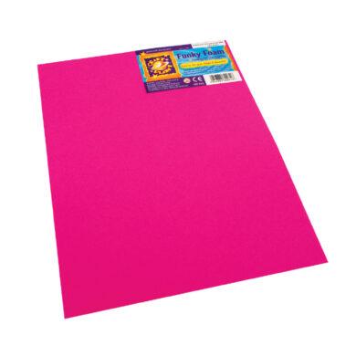 pěnová guma  CPT 80261 B4 2mm růžová tmavá(5050784802616)