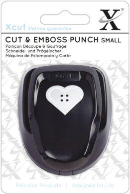 DO výsekový strojek XCU 261002 Heart Button(5050870021853)