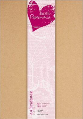 DO papír PMA 160604 A4 karton přírodní 25ks 280g(5055170156656)