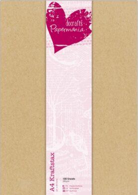 papír PMA 160609 A4 karton přírodní 100ks 280g(5055170168369)