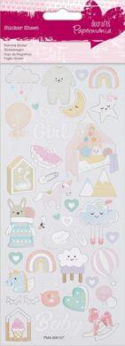 DO samolepky PMA 806107 Baby Girl(5055170187919)
