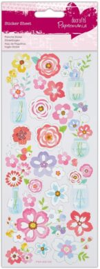 DO samolepky PMA 806108 Flowers Jars(5055170187926)