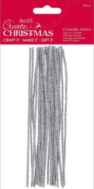 drát plyšový PMA 356949 metal 300mm 20ks Silver(5055170189975)