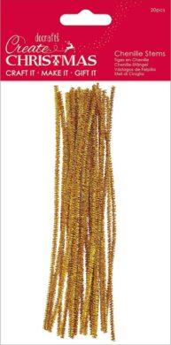 drát plyšový PMA 356950 metal 300mm 20ks Gold(5055170189982)