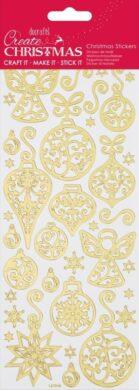 DO samolepky PMA 810933 vánoční zlaté Angels(5055170190322)