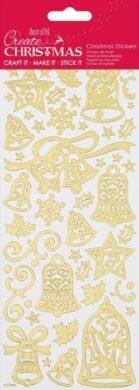DO samolepky PMA 810934 vánoční zlaté Bells(5055170190339)